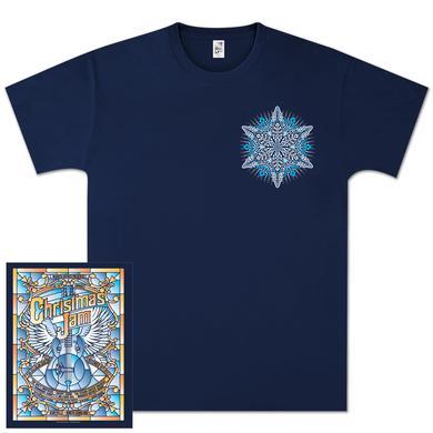"Govt Mule Warren Haynes 2012 Xmas Jam ""Stained Glass"" Shirt"