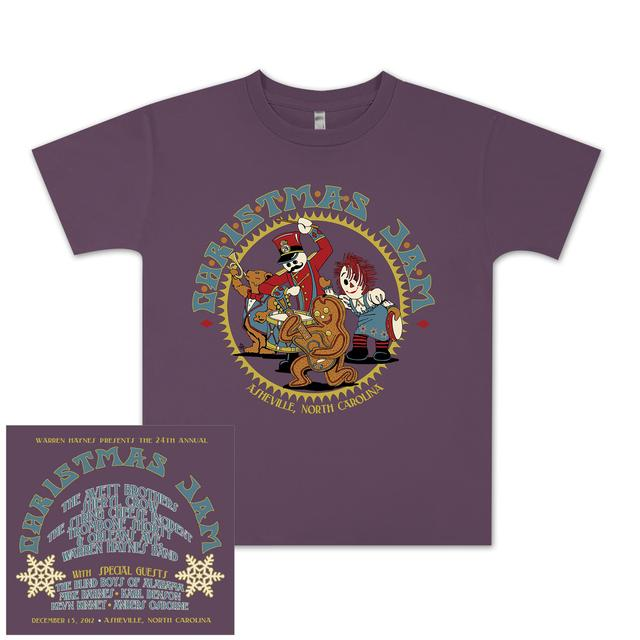 "Govt Mule Warren Haynes 2012 Xmas Jam ""Rockin' Toys"" Youth Shirt."