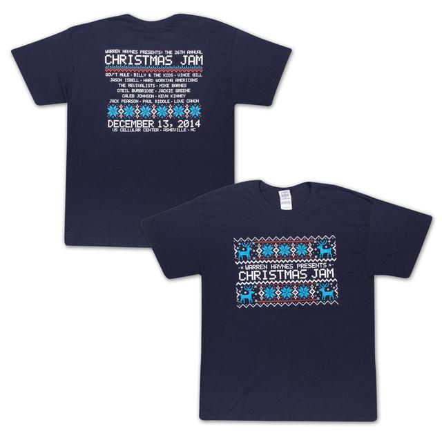 Govt Mule Warren Haynes Christmas Jam 26 T-Shirt