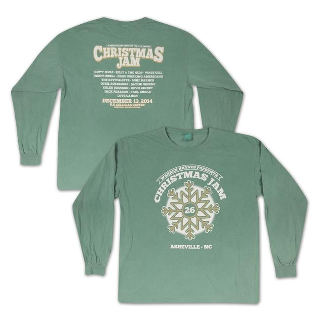 Govt Mule Warren Haynes Christmas Jam 26 Long-Sleeve T-Shirt