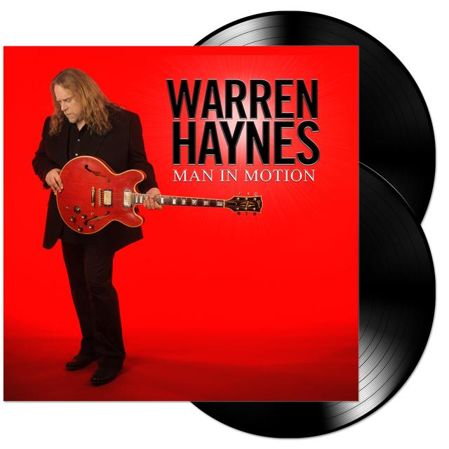 Govt Mule Warren Haynes - Man in Motion Vinyl LP