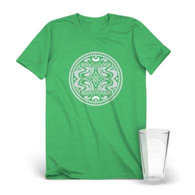 Govt Mule Classic Quattro Dose Logo T-Shirt & Pint Glass Bundle