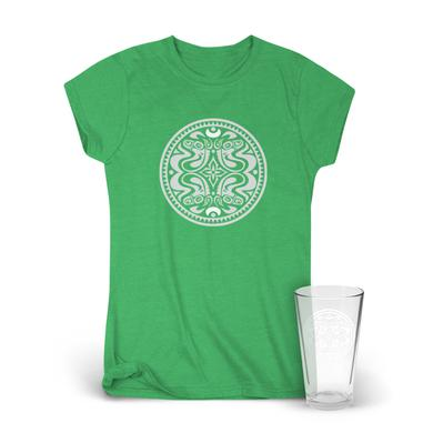 Govt Mule Classic Dose Logo Women's T-Shirt & Pint Glass Bundle