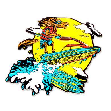 Govt Mule Jet Skiing Mule Island Exodus Pin