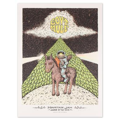 Govt Mule Mountain Jam Poster