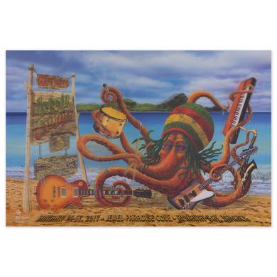 Govt Mule Gov't Mule Island Exodus VIII (2017) Event Poster