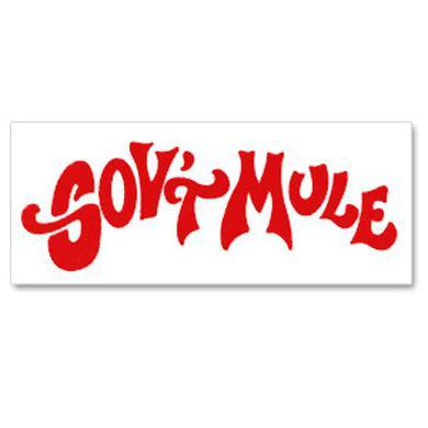 Govt Mule Red Die Cut Sticker