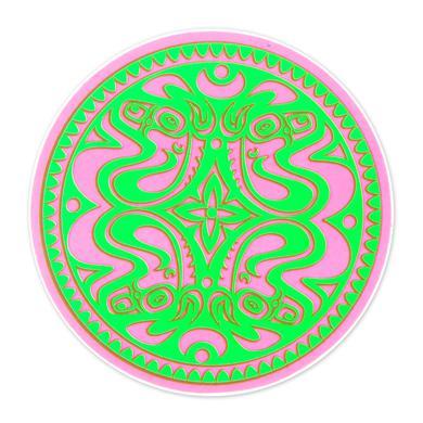Gov't Mule Pink/Green Neon Dose Sticker