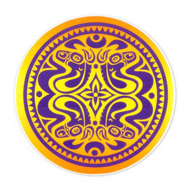 Gov't Mule Purple/Orange Dose Sticker