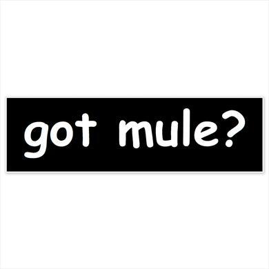 Govt Mule Got Mule? Sticker