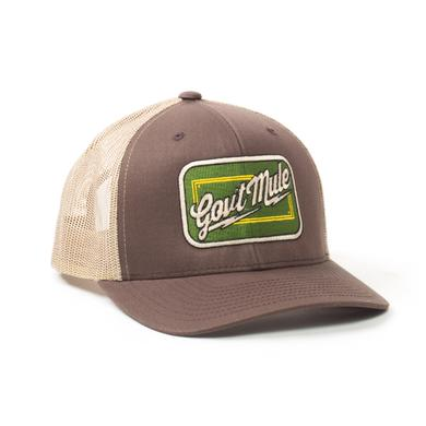 Govt Mule Green Patch Trucker Hat