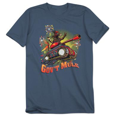 Govt Mule Mule On A Tank 2017 Fall Tour Shirt