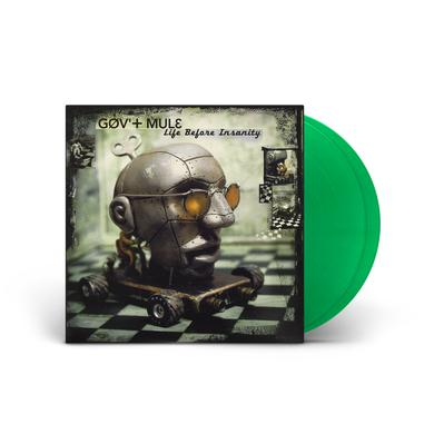 Govt Mule Life Before Insanity Limited Edition Green Vinyl