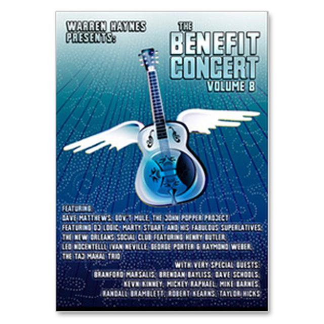Warren Haynes Presents: The 2006 Benefit Concert Volume 8 DVD
