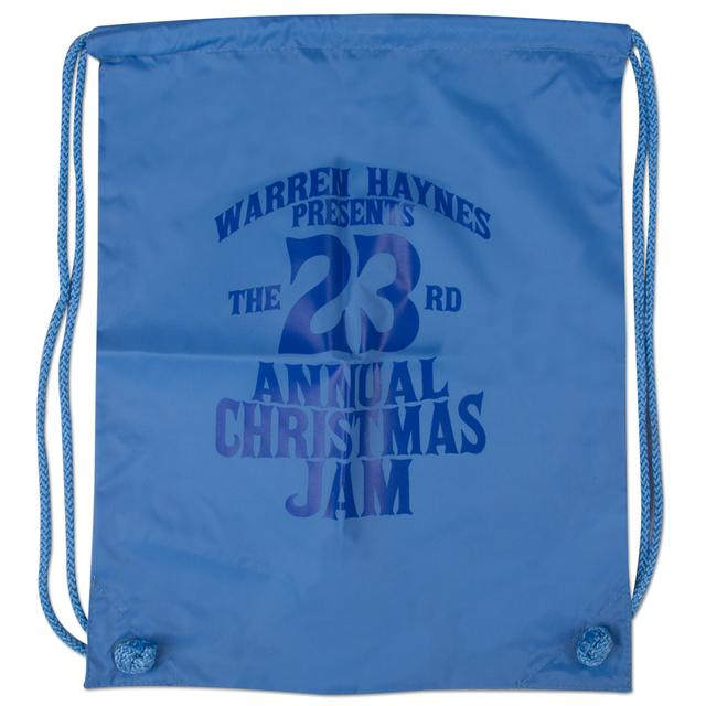 Warren Haynes 2011 Christmas Jam Drawstring Bag