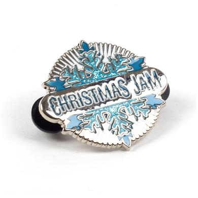 Warren Haynes 2015 Christmas Jam Pin