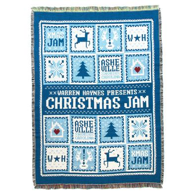 Warren Haynes 2016 Christmas Jam Blanket