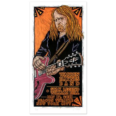 Warren Haynes Band May 2011 Beacon Theater New York City Event Poster
