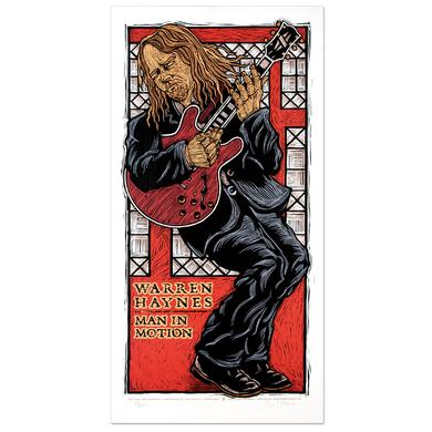 Warren Haynes Man in Motion Poster
