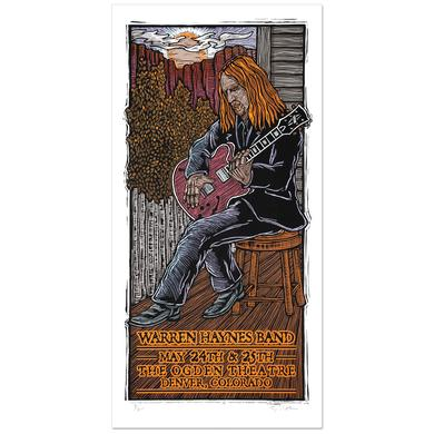 Warren Haynes Band May 2011 Ogden Theatre Denver Event Poster