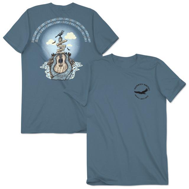 Warren Haynes 2016 Tour Guitar Highway Logo T-Shirt