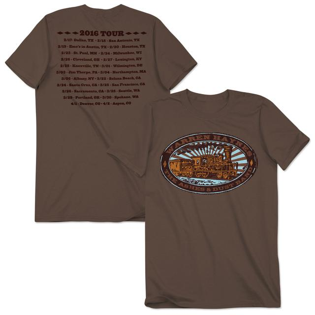 Warren Haynes 2016 Tour Train Logo T-Shirt