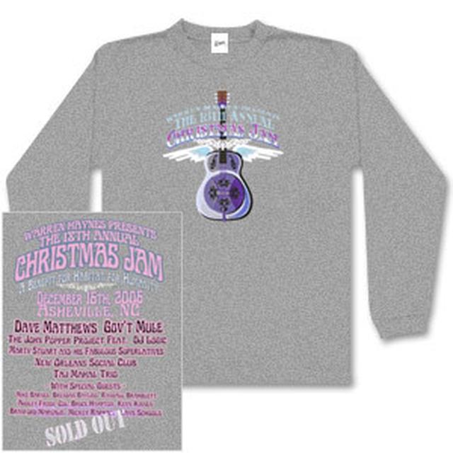 Warren Haynes 2006 Xmas Jam Longsleeve T-Shirt