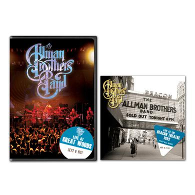Warren Haynes The Allman Brothers Band - Play All Night: Live At The Beacon Theater 1992 2-CD Set and Live At Great Woods DVD Bundle