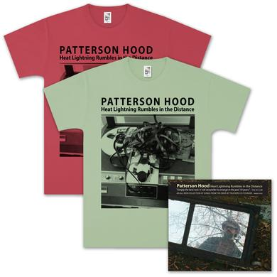 Drive-By Truckers Patterson Hood - Heat Lightning CD & Tee Combo