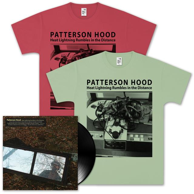 Drive-By Truckers Patterson Hood - Heat Lightning LP & Tee Combo (Vinyl)
