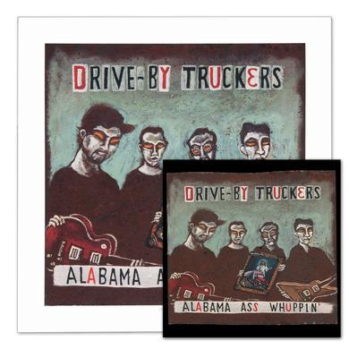 Drive-By Truckers Alabama Ass Whuppin' CD & Print Combo