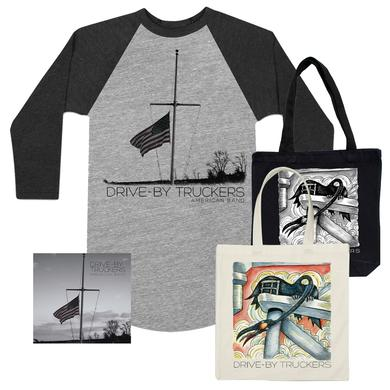Drive-By Truckers American Band CD, Shirt & Tote Bundle