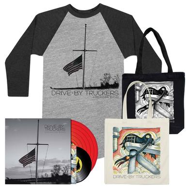 Drive-By Truckers American Band LP, Shirt & Tote Bundle
