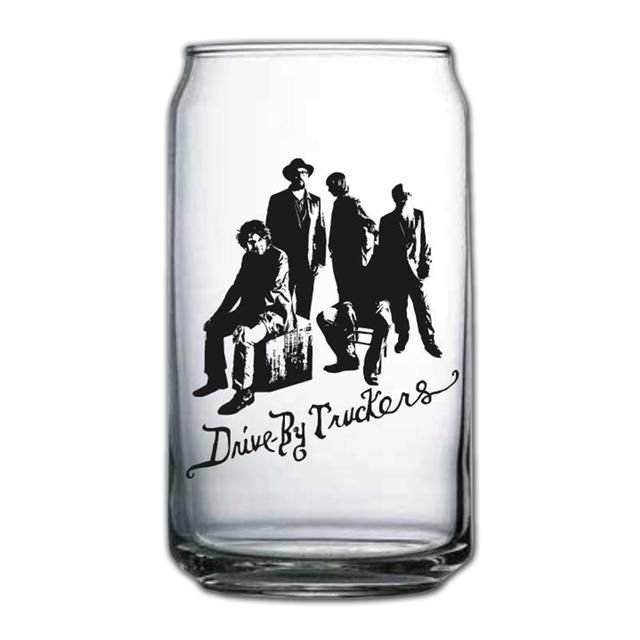 Drive-By Truckers Beer Can Glass