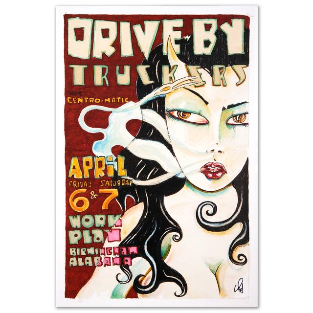 Drive-By Truckers 2012 Birmingham Poster