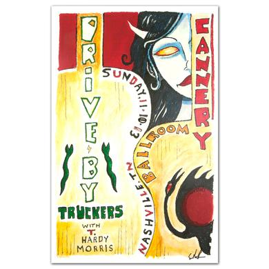 Drive-By Truckers - November 10, 2013 Cannery Ballroom Poster