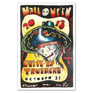 Drive-By Truckers - October 31, 2013 The Vic Theatre Poster