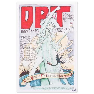 Drive-By Truckers Dance Band of the Resistance April '17 Tour Posters