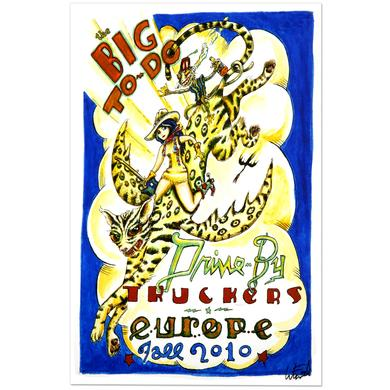 Drive-By Truckers Europe Fall 2010 Tour Poster