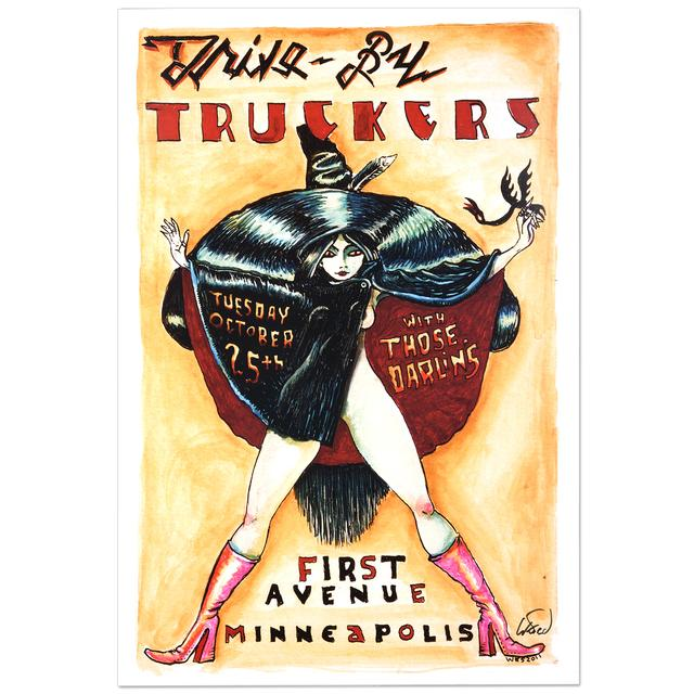 Drive-By Truckers 2011 Minneapolis Poster