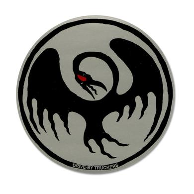 Drive-By Truckers DBT - Silver Cooley Bird Sticker