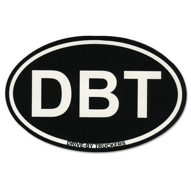 Drive-By Truckers Oval DBT Sticker