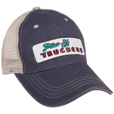Drive-By Truckers Navy Blue Trucker Hat w/ Embroidered Patch