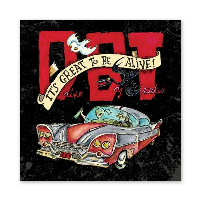 Drive-By Truckers It's Great To Be Alive! T-Shirt