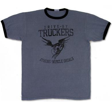 Drive-By Truckers DBT Ringer T with Cooley Bird Print