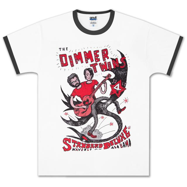Drive-By Truckers Dimmer Twins Ringer Tee