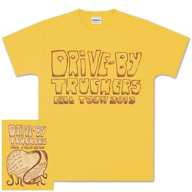 Drive-By Truckers DBT Men's Fall Tour Tee Honey