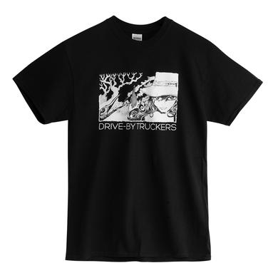 Drive-By Truckers Darkened Flags 2016 Fall Tour T-Shirt