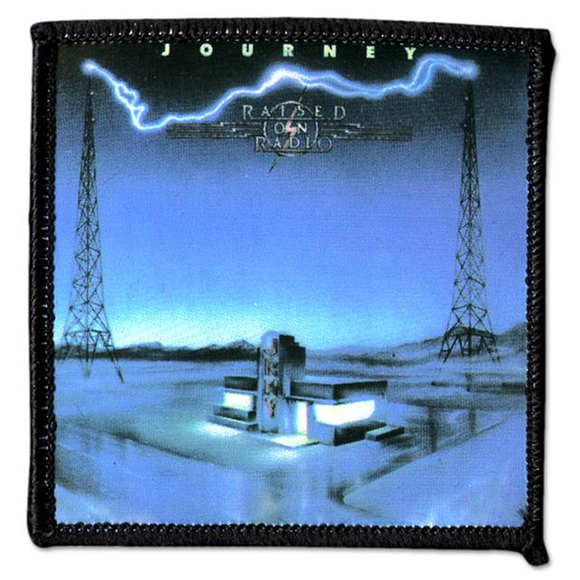Journey Retro Patch - Raised on Radio