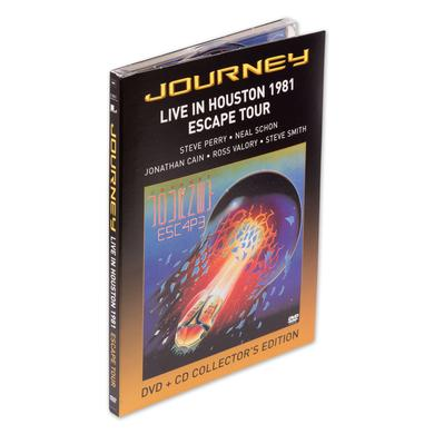 Journey Live in Houston 1981 DVD/CD Collector's Edition